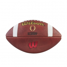 CFP Traditional Official Size Football - Wisconsin by Wilson