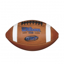 GST NCAA 1003 Official Collegiate Pattern Football - Blue by Wilson