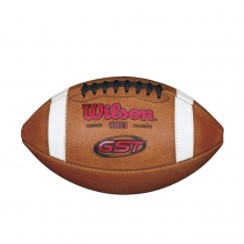 GST NCAA 1003 Official Collegiate Pattern Football - Red by Wilson