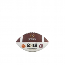 College Football Playoff Mini Size Autograph Ball - Team Logos by Wilson
