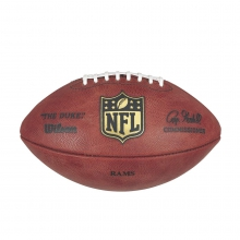 NFL Team Logo The Duke Game Leather Football - Los Angeles Rams by Wilson
