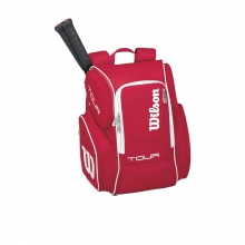 Tour V Red 2 Pack Large Tennis Backpack by Wilson