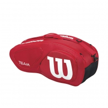 Team Red 6 Pack Tennis Bag by Wilson