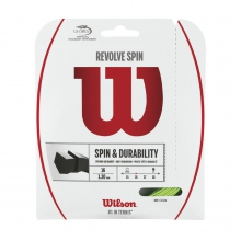Revolve Spin Tennis String - Set by Wilson