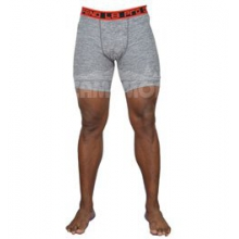 Base Layer Training?Short 7IN - Men's - Grey Granite Spacedye In Size: Small by Layer 8