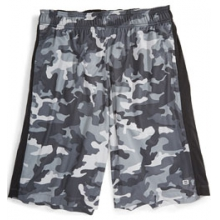 Printed Knit Training Shorts - Men's by Layer 8