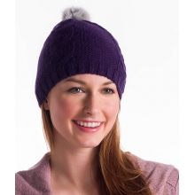 - Womens Cable Beanie by Lole
