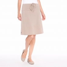 - Lunner Skirt - X-Small - Biscotti Heather by Lole