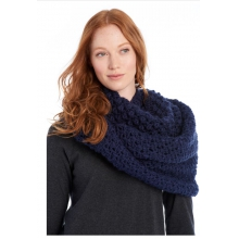 womens eternity scarf popcorn amalfi blue by Lole