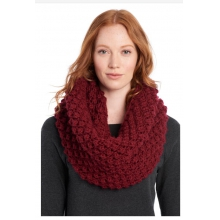 womens eternity scarf popcorn rumba red by Lole
