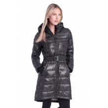 womens emmy jacket black and dark charcoal east side by Lole