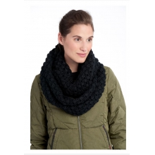 womens eternity scarf popcorn black by Lole