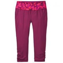 Switch It Up Capri - Women's - Blush Mini Glitter/Crimson In Size by Moving Comfort