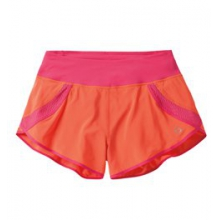 "Momentum 3"" Run Short - Women's - Flame/Pixie In Size: Large by Moving Comfort"