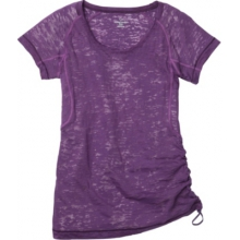 Moving Comfort Womens Flow Burnout Tee by Moving Comfort