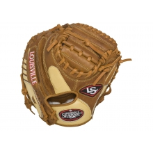 Omaha Pure Catcher's Mitt by Louisville Slugger