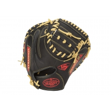 Omaha Series 5 Scarlet Catcher's Mitt by Louisville Slugger