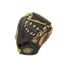 Omaha Series 5 Orange Catcher's Mitt by Louisville Slugger