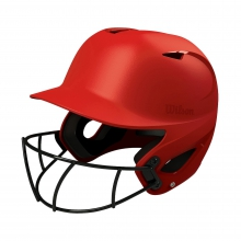Superfit Helmet With Hd Vision Softball Mask by DeMarini