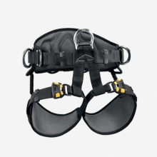 - Avao Sit Fast Harness - 0 - Yellow / Black by Petzl