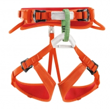 MACCHU kids body harness coral by Petzl