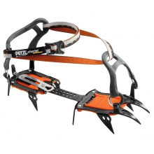 IRVIS lever lock crampons by Petzl