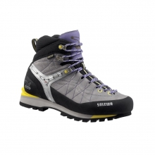 - Rapace GTX Womens Mountaineering Boot - 9 - Grey / Yellow