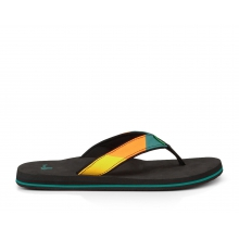 - Block Party Boys - 8 9 - Teal/Orange by Sanuk