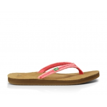 - Slim Fraidy W Flip - 10 - Watermelon by Sanuk