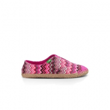 Womens Runaround Jute - Sale Fuschia Multi 7 by Sanuk