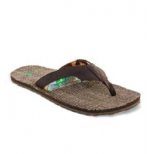 Range Flip Flop Sandals - Men's - Dark Brown In Size