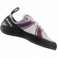 Helix Climbing Shoe Womens - Pewter/Plum 41.5 by Scarpa