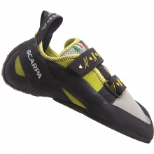 Vapor V Climbing Shoe Mens - Lime 40.5 by Scarpa