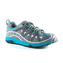 Spark Shoes Womens (Pewter/Turquoise) by Scarpa