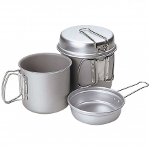 Titanium Trek Combo Cook Set by Snow Peak