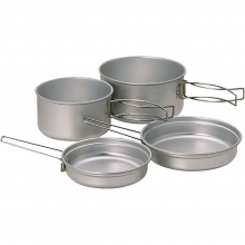 Multi Compact Cookset Aluminum - by Snow Peak