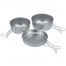 Titanium Cook Set by Snow Peak