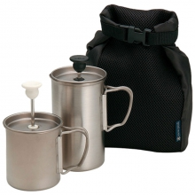 Cafe Latte Set - Titanium