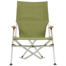 Folding Beach Chair: Green by Snow Peak