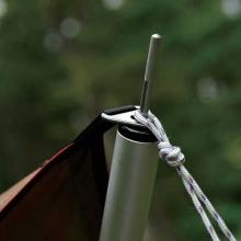 Tarp Pole 240cm Aluminum