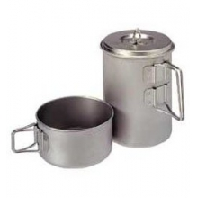 Mini Solo Titanium Cookset by Snow Peak