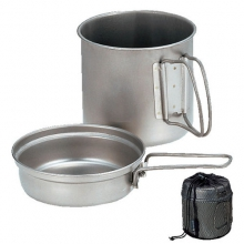 Trek 1400 Cookset - Aluminum by Snow Peak