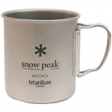 Titanium Single 600 Cup -  600 by Snow Peak