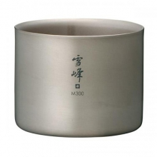 M300 Double Walled Titanium Stacking Cup