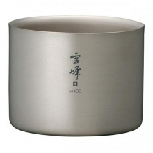 M400 Double Walled Titanium Stacking Cup