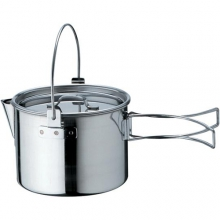 Kettle No. 1 - Stainless Steel by Snow Peak