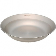 Tableware Dish - Stainless Steel by Snow Peak