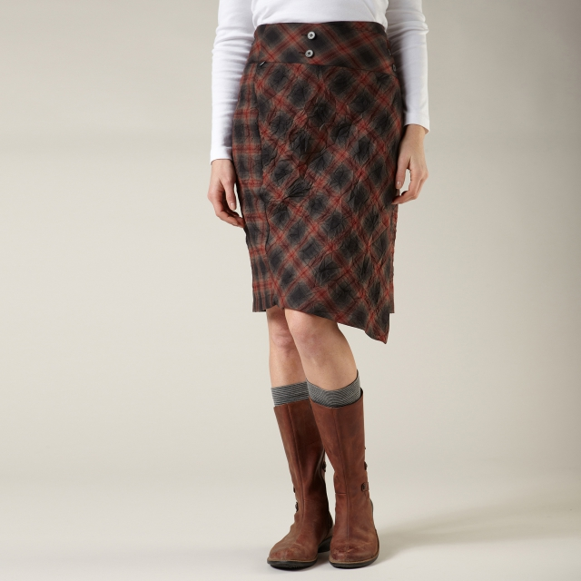 Royal Robbins - CRIMPED FLANNEL SKIRT - REGULAR FIT