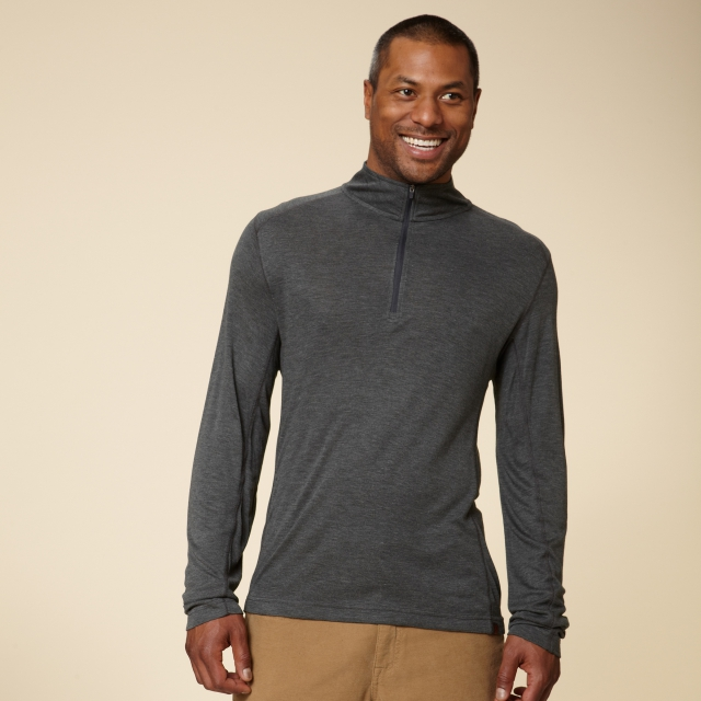 Royal Robbins - MISSION KNIT 1/4 ZIP - REGULAR FIT