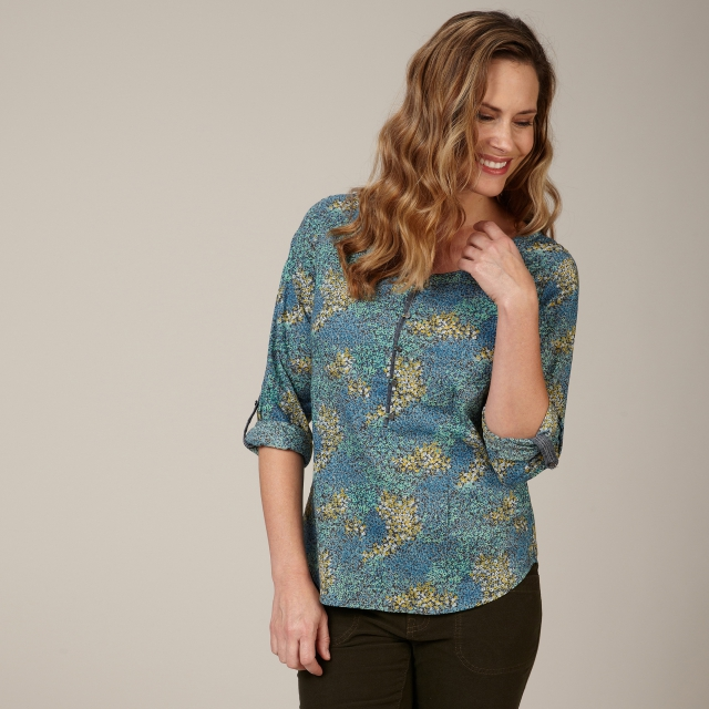 Royal Robbins - WILDFLOWER POPLIN L/S - REGULAR FIT